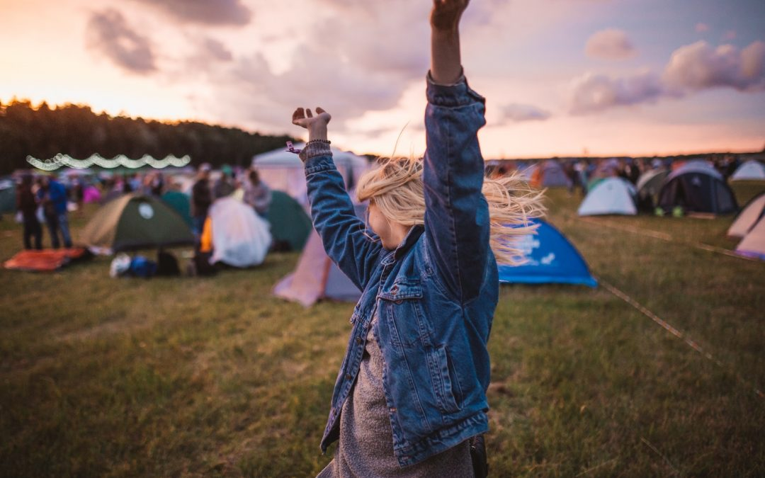 What I learned about gratitude from volunteering in a festival